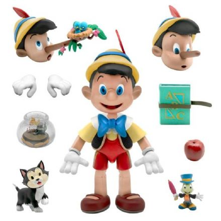 Super7 Disney Ultimates Pinocchio Action Figure